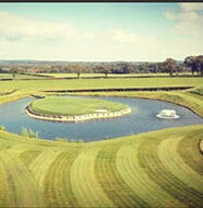 OnlineGolf News: Footballer Gareth Bale builds replica of TPC Sawgrass' 17th at his Wales home