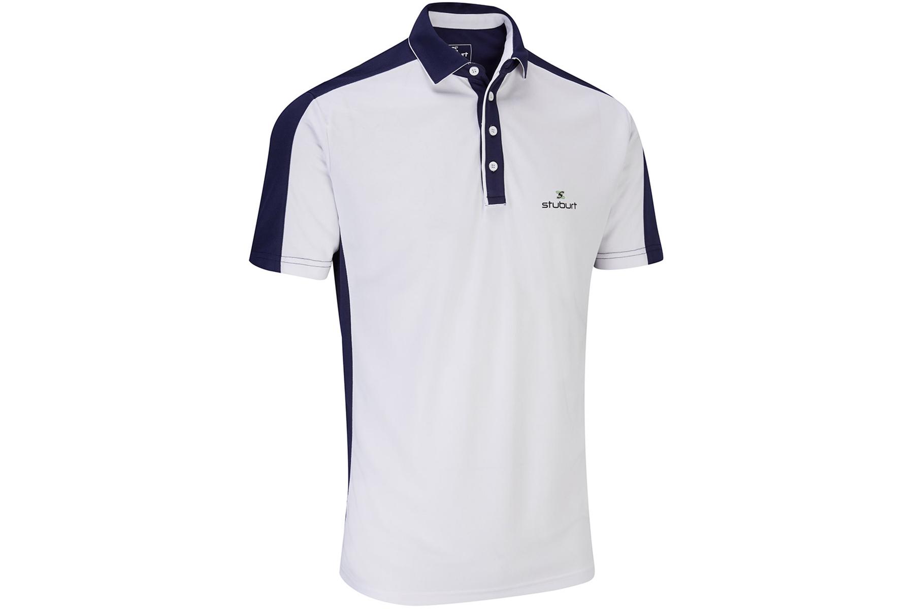 stuburt moisture wicking polo shirt online golf