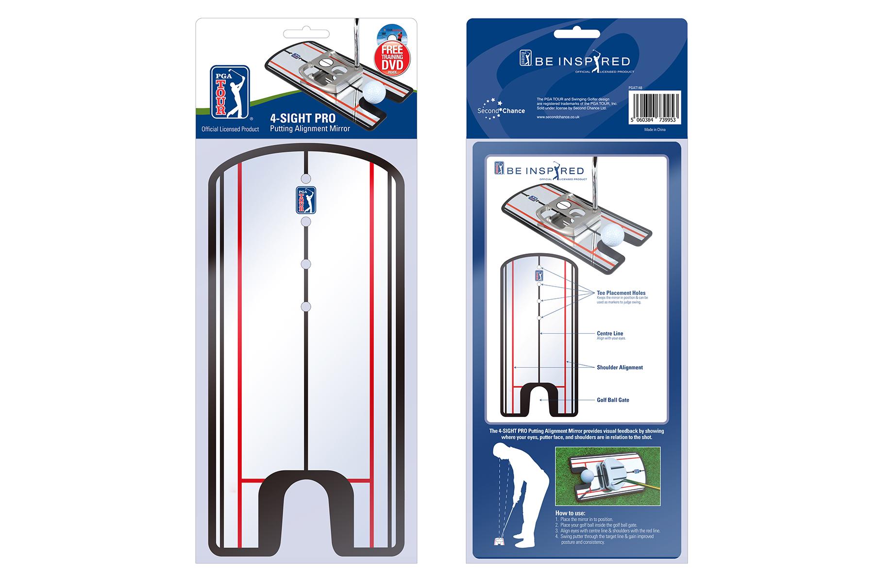 Pga Tour 4 Sight Pro Putting Alignment Mirror Online Golf
