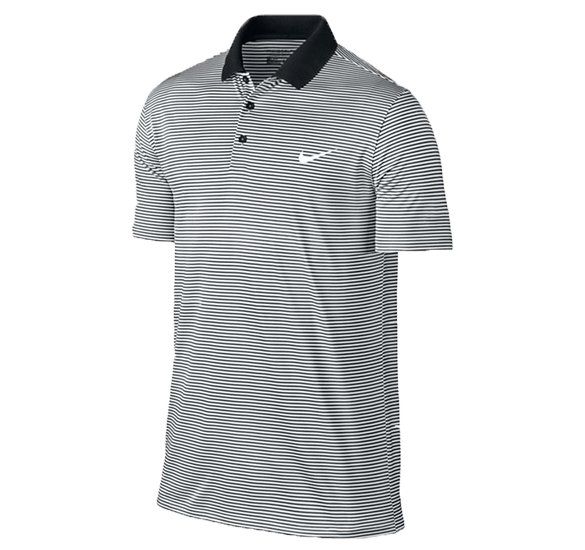 Nike Golf Victory Mini Stripe LC Polo Shirt