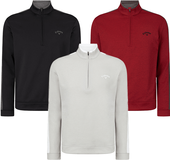 Callaway Golf Stripe Therma Sweater