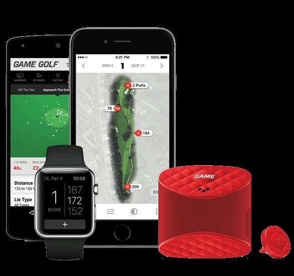 GAME GOLF LIVE Digital Tracking System