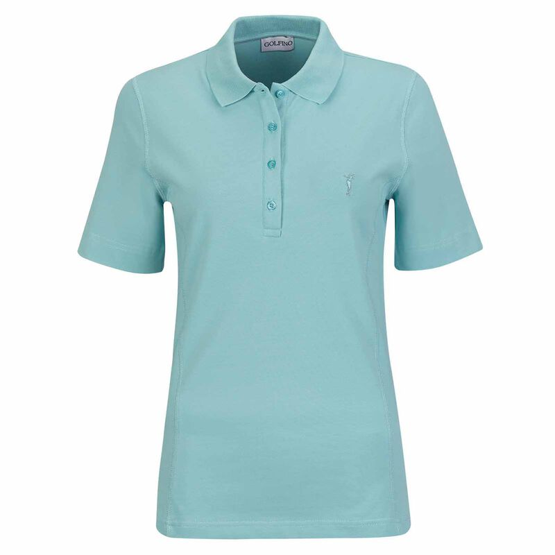 T-Shirts, Polos, Tops GOLFINO Ladies Martina Polo Shirt, Female, Green, 10