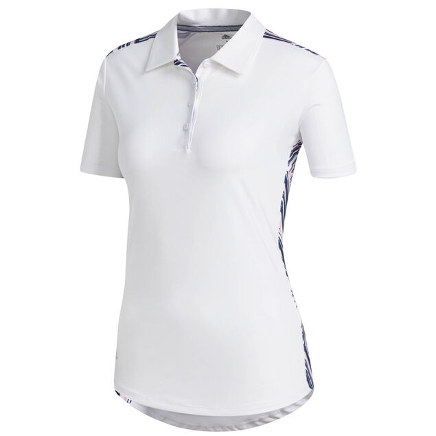 b7fad26e adidas Golf Ladies Ultimate Novelty Short Sleeve Polo Shirt | Online ...