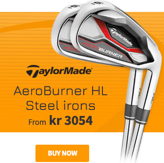 TaylorMade AeroBurner HL Steel Irons - BUY NOW!