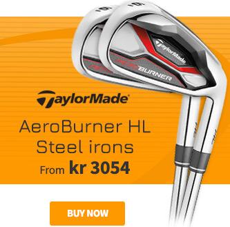 TaylorMade AeroBurner HL Steel Irons - BUY NOW!