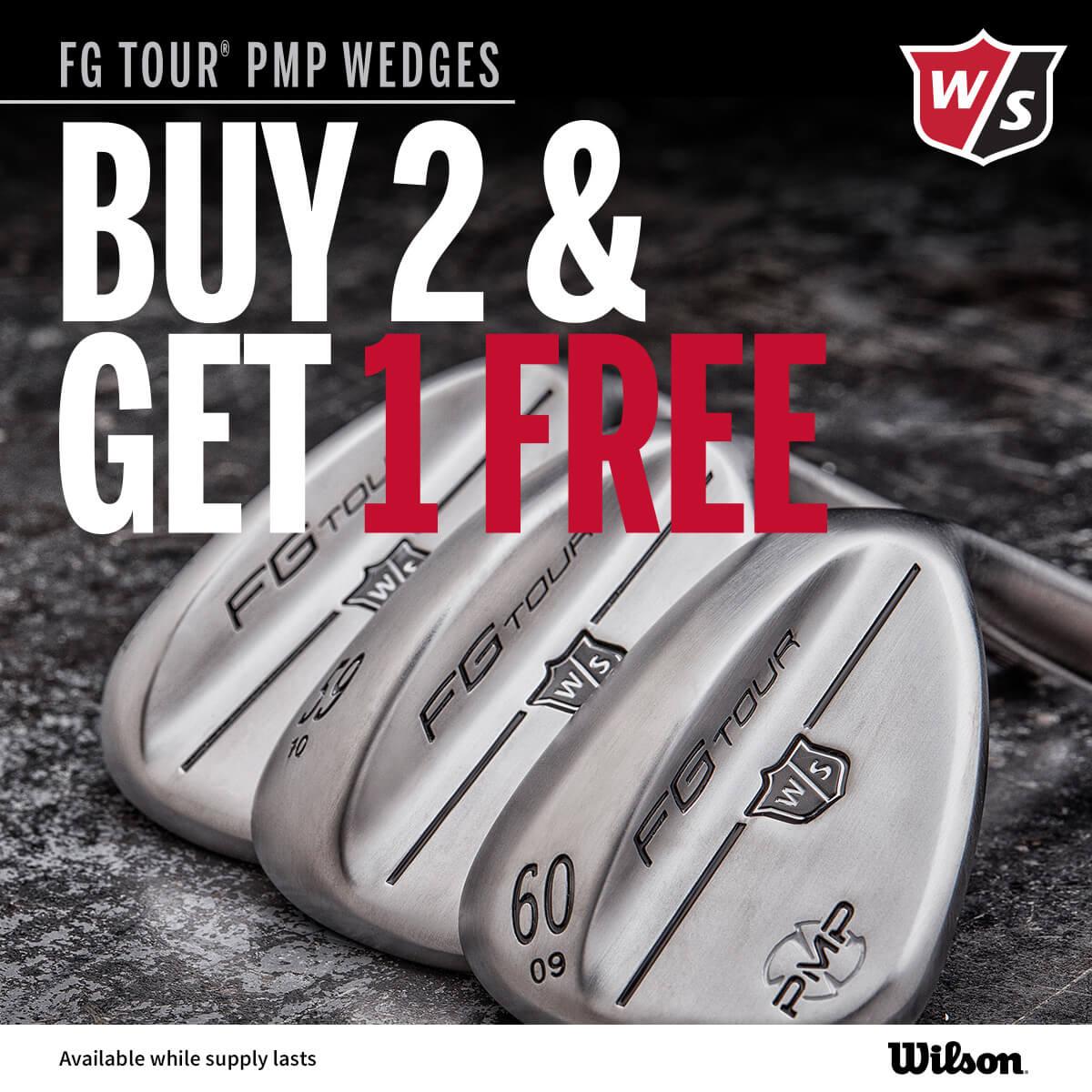 Wilson PMP Wedges Buy 2 Get 1 Free