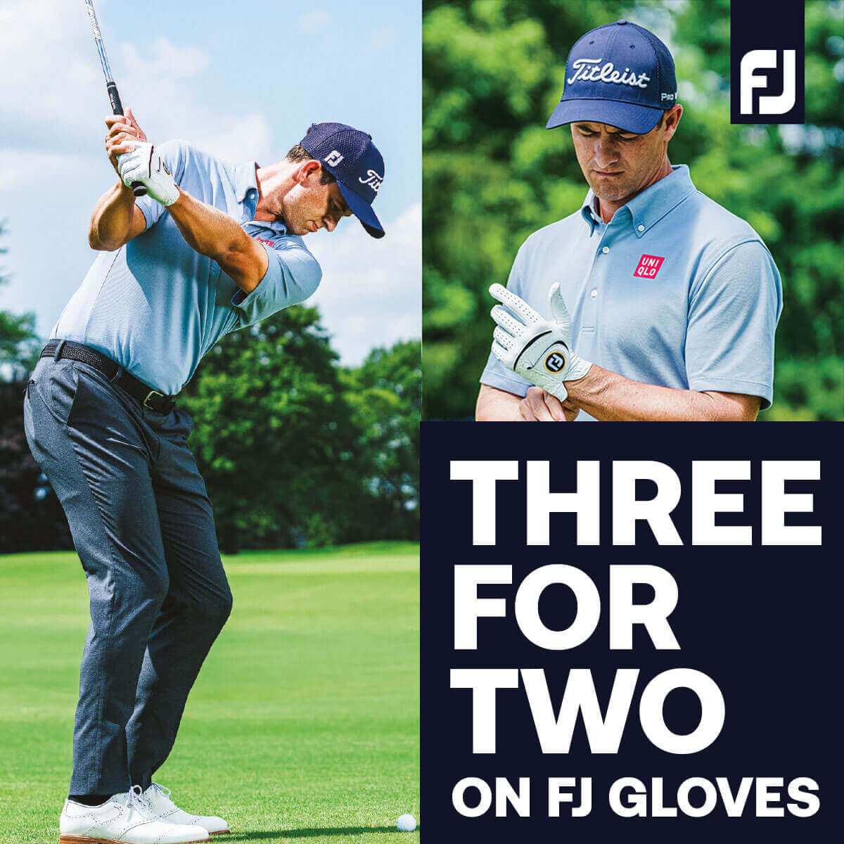 FOOTJOY 3 FOR 2