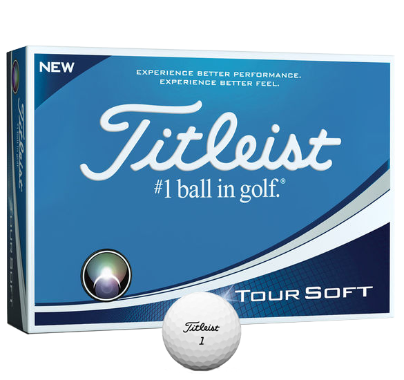TITLEIST TOUR SOFT 12 GOLF BALLS