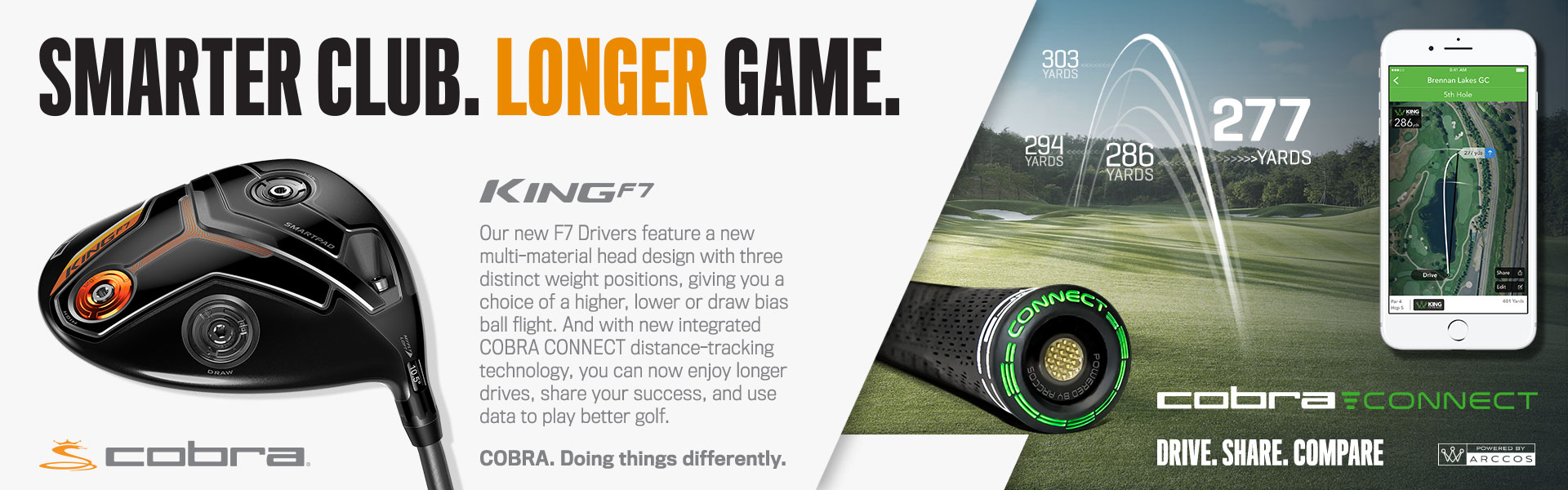 Cobra Golf King F7 Driver